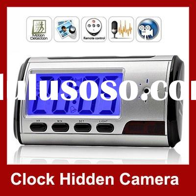 Spy Clock Camera Mini Talking Clock Digital Video Recorder With Remote Control Globalink china whole