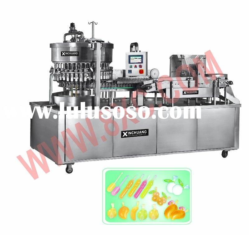 ice lolly auto filling & Sealing Machine