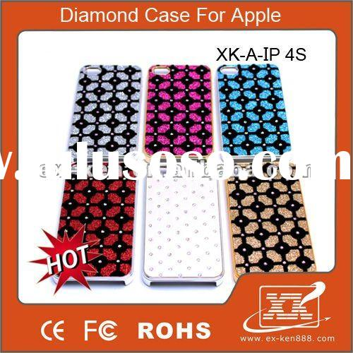 Lower price !!! diamond plate for iphone 4s case
