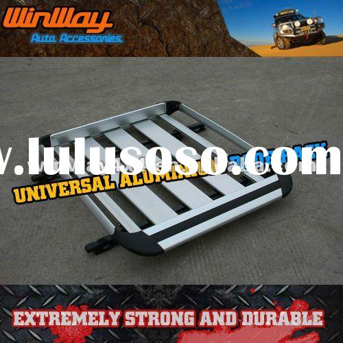 UNIVERSAL ALUMINIUM CAR ROOF RACK WITH CROSS BAR
