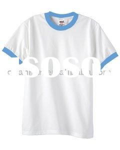 100% Cotton Plain White T-shirt