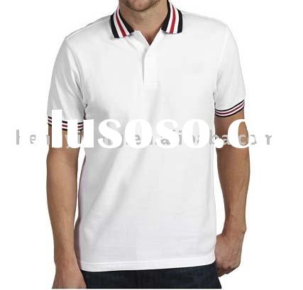 2011 OEM hot sale men's cotton polo shirt embroidery