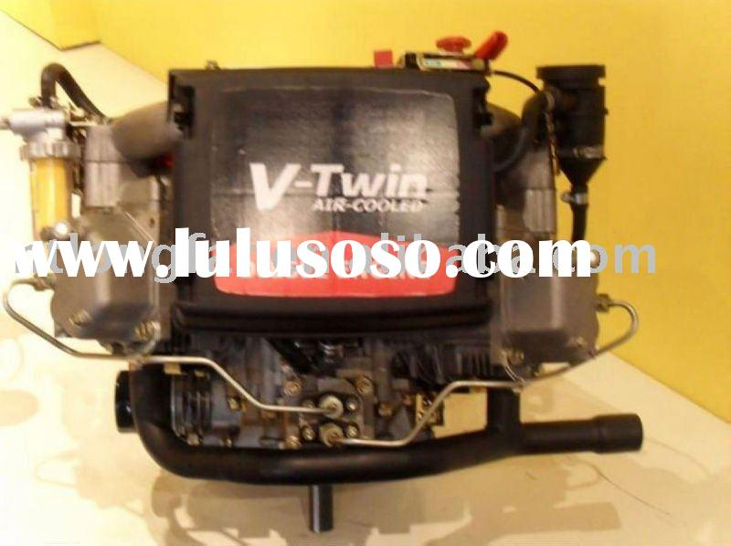 22hp diesel lawn mower engine with v-twin