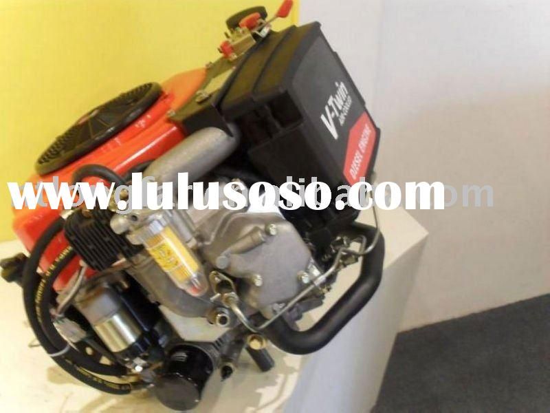 22hp ride-on lawn mower engine with vertical shaft