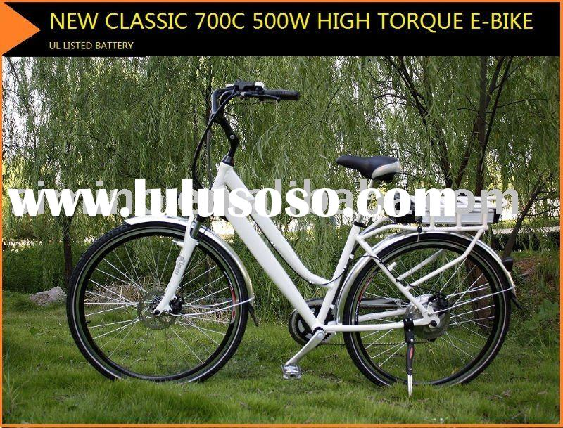 500W li-on battery Electric bicycle New Classic