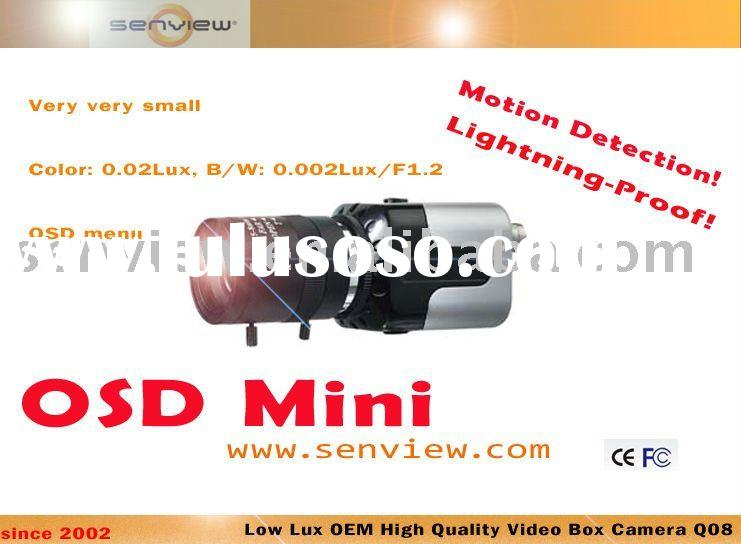 CCTV :OEM High Quality CCTV OSD Box Camera