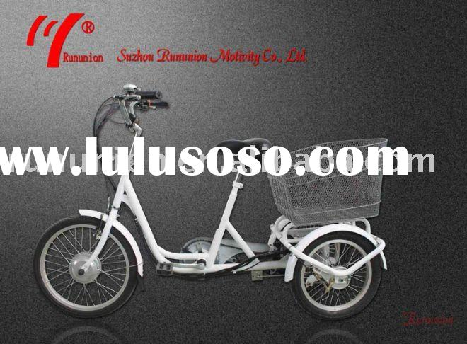 City bike,tricyle,3 wheels,front 20inches,rear 16inches,3 wheel chopper,lithium battery Tricycle e-b
