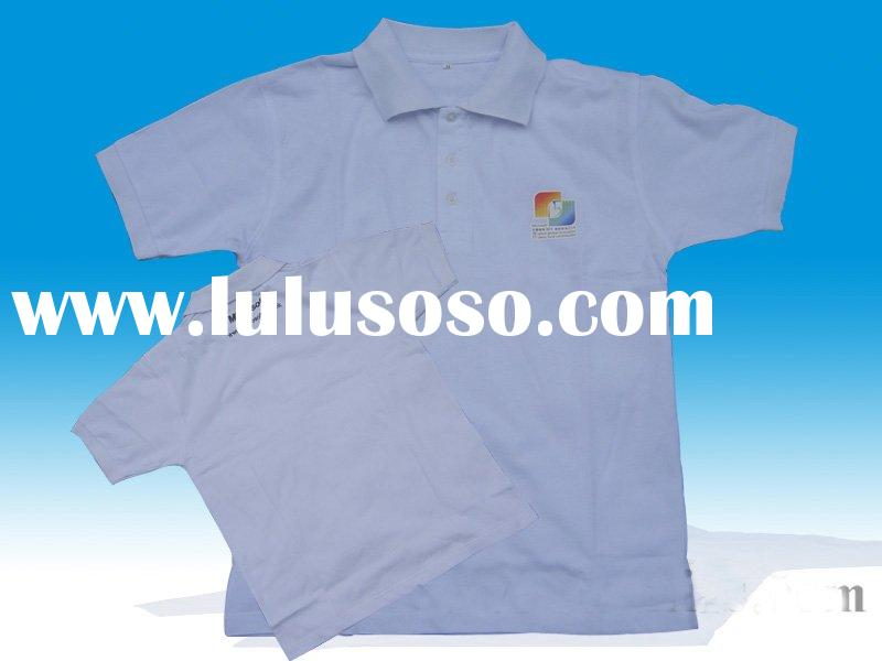Custom promtion polo shirts/ comany logo