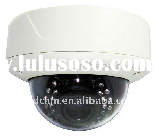 EC-V6033IR, Vandal Dome Camera, CCTV, 600 TVL Color + OSD DNR ,Varifocal 4-9MM Lens,3-axis housing,