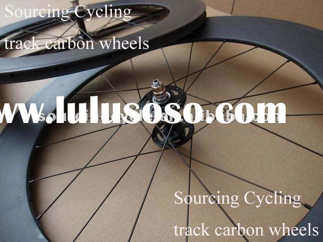 Fixed gear track wheels & 88mm carbon clincher wheels