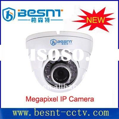 Newly megapixel IP Dome IR cctv camera BS-IP55VX