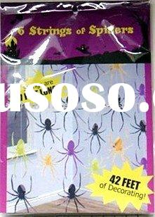 Party Supply Halloween Hanging Spiders Decoration
