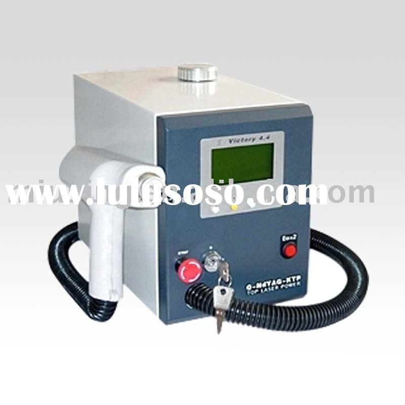 Professional Q Switch YAG Laser Tattoo Eyebrow Lip line Freckle Birthmark Removal (CE Approval)