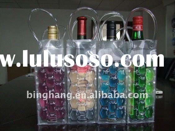 Wine bottle cooler bag & wine cooler bag