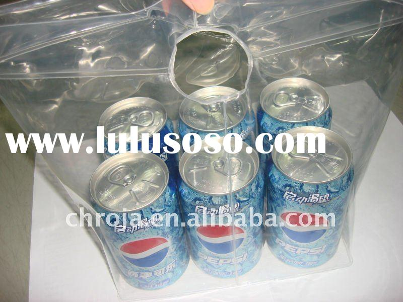 Wine cooler plastic bag
