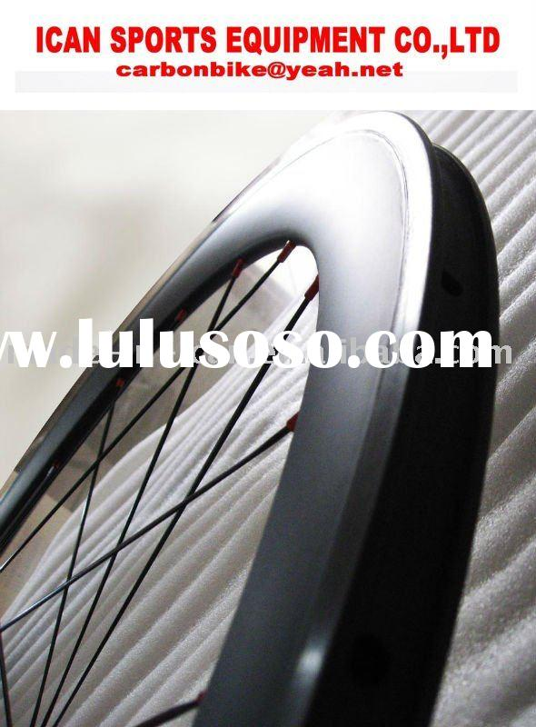 carbon bicycle wheels 50 clincher wheelset