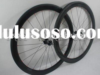 carbon bike wheels 50mm tubular with factory price FSC50-T