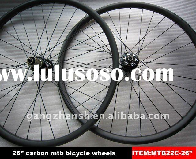 "carbon mtb wheels 26"" with 32 holes"