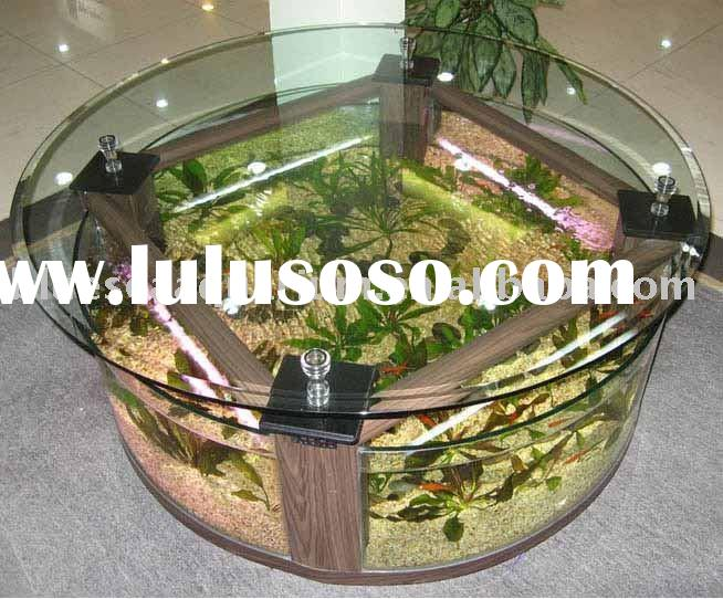 Fish aquarium coffee table fish tank coffee table aquarium for Coffee table fish tank for sale