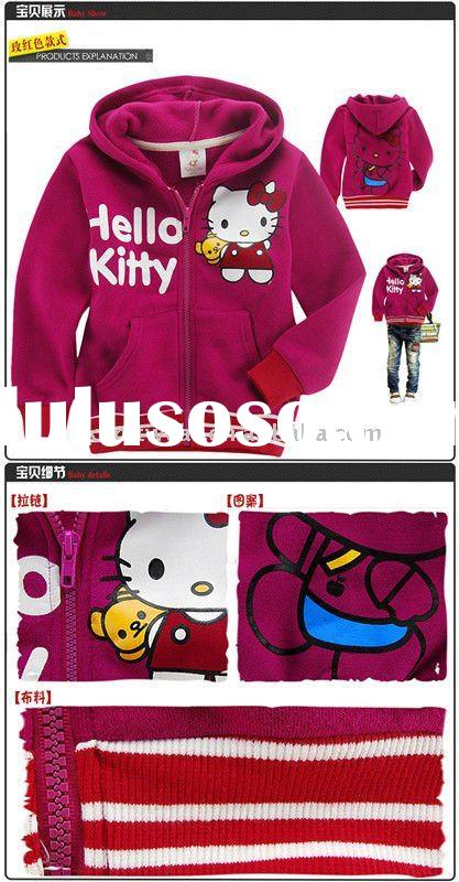 fashion hello kitty fleece hoodies clothing products