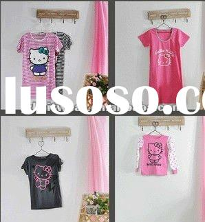 kids hotselling hello kitty t-shirt