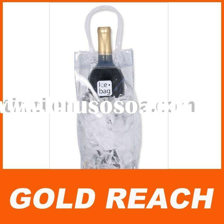 plastic wine cooler bag