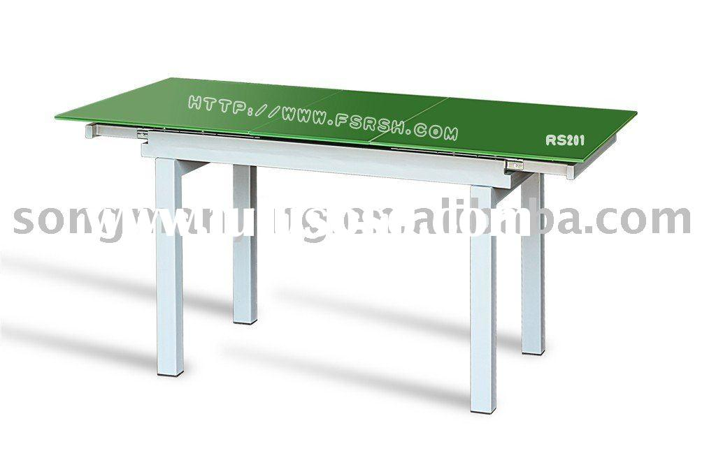 telescopic modern dining table