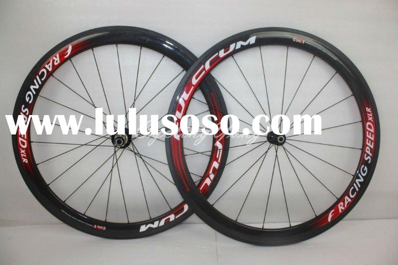 wholesale Fulcrum,Compagnolo,DT swiss, ZIPP Full carbon Wheelset C-50 Clincher wheels 50mm