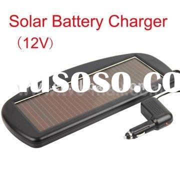 12V DC Electric Solar Car Battery Charger