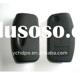 2011 newest silicone stylish car key cover silicone key cover for ford