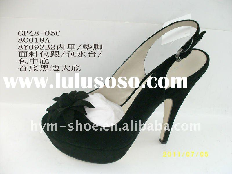 2012 genuine leather shoe woman
