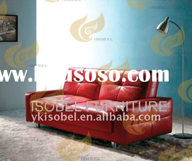 2 seater fabric sofa cum bed designs with Arm YK001