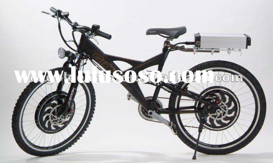 48V 1500W electric bicycle with dual power hub motors