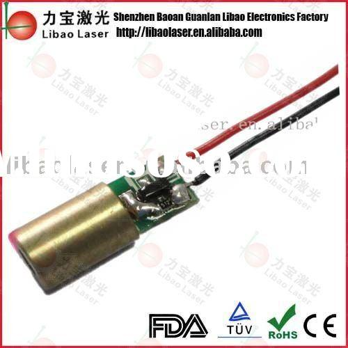650nm 5mw red diode laser module (dot )