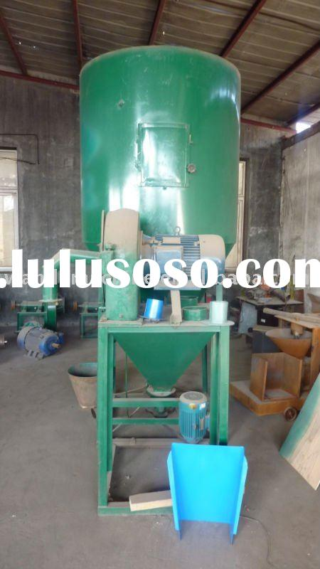 Animal feed crusher&mixer machine