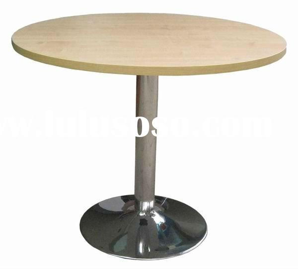 Board meeting conference table design with trumpet base GF203-90