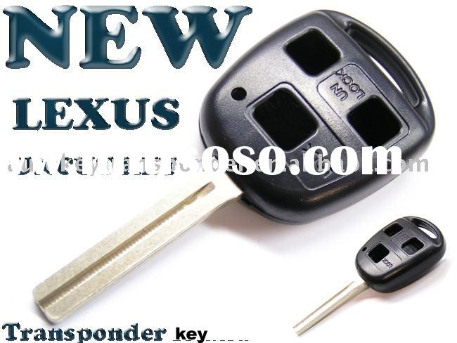 CAR REMOTE KEY SHELL FOR LEXUS RX400 GX470 LS430 IS350 NEW REMOTE KEY CASE SHELL--AUTOKEYTRANSPONDER