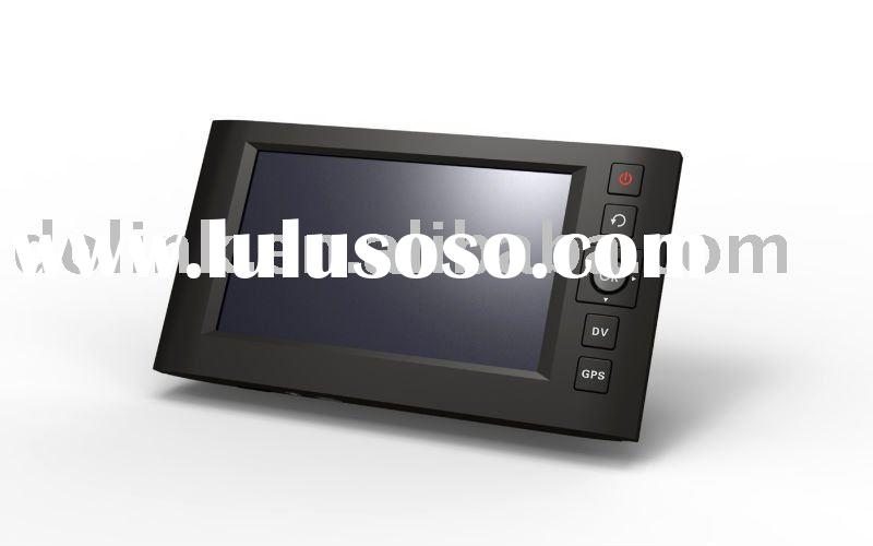 Car GPS with video recording system