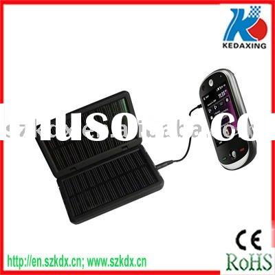 Cell phone solar charger to blackberry