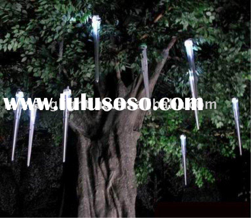 Colorful laixiang waterproof led shooting star light in 30cm 40cm 50cm 80cm 100cm