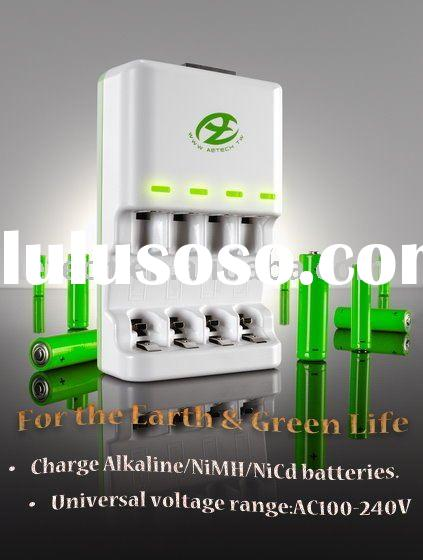 Disposable Alkaline Battery charger (350mAh*4)