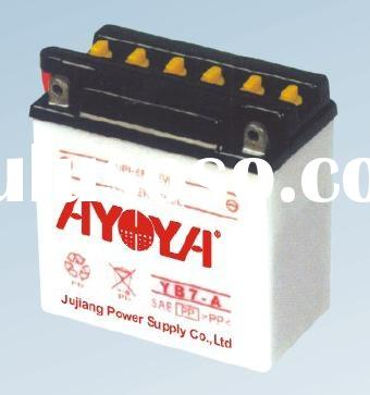 Dry Charged Motorcycle Battery YB7-A