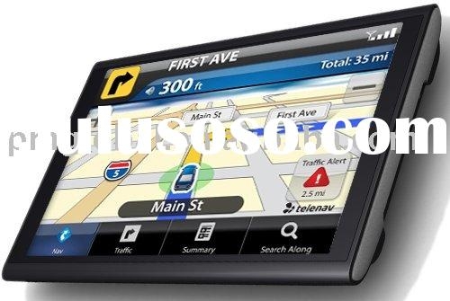 """GPS ( Hot sale new 7"""" GPS with 800*480 pixels solution, PM-NA-070G)"""