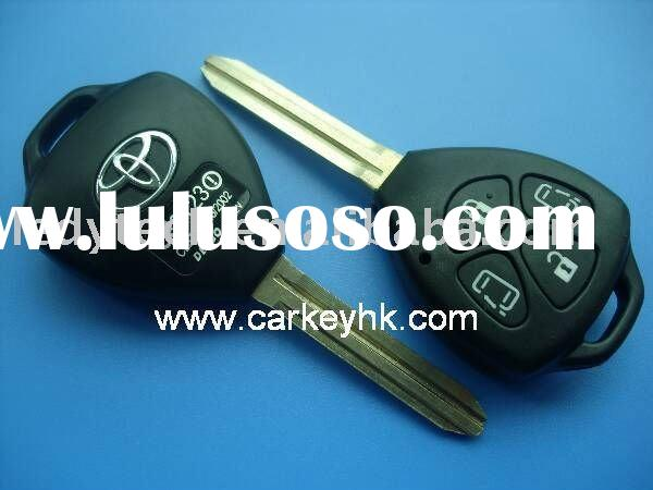 High quality Toyota key cover, Camry 4 buttons remote key cover,car key