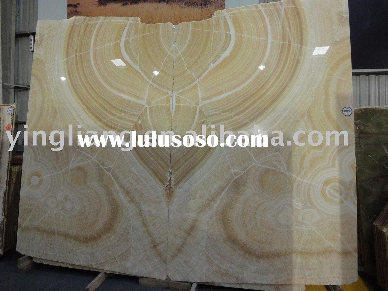 Honey Onyx yellow marble