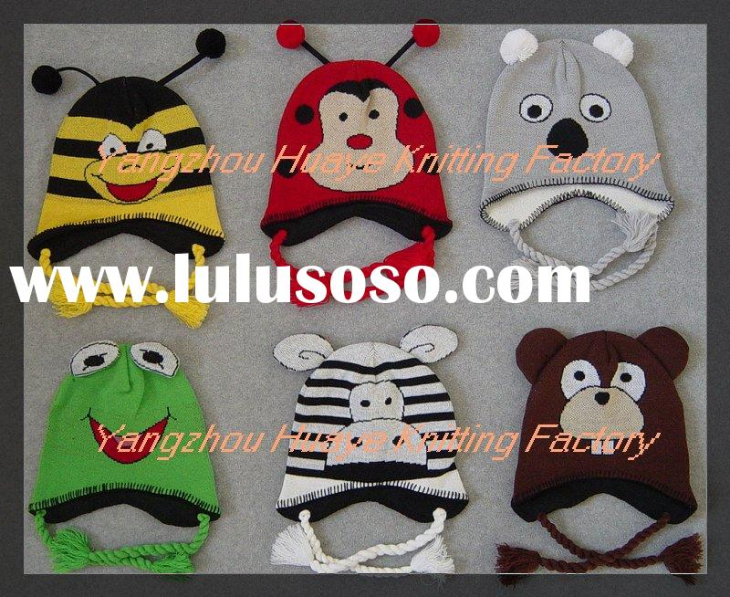 Kid's Hats, Animal Hats, Cartoon Hats