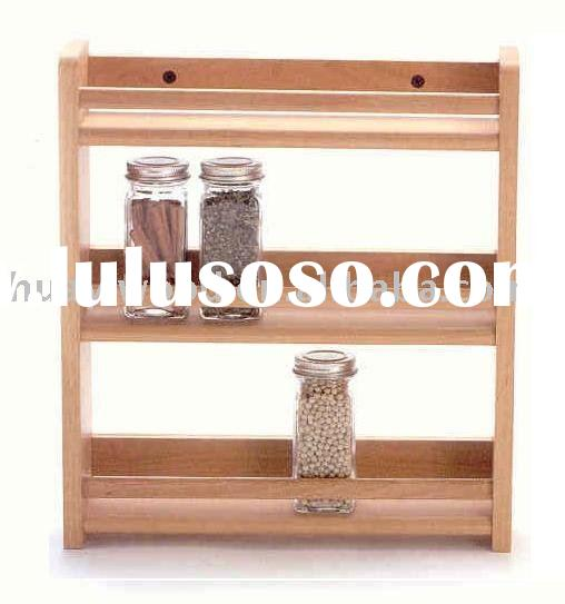 Kitchen Spice Racks, Wood Kitchen Racks