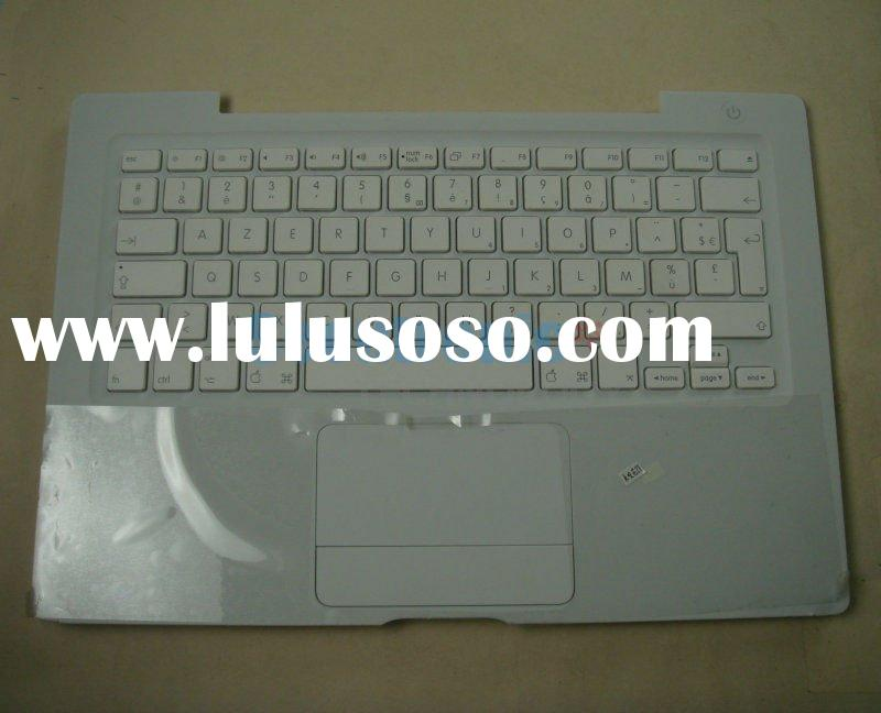 Laptop keyboards forP060F-W APPLE G4 MACBOOK 13.3' with palm (topcase) White