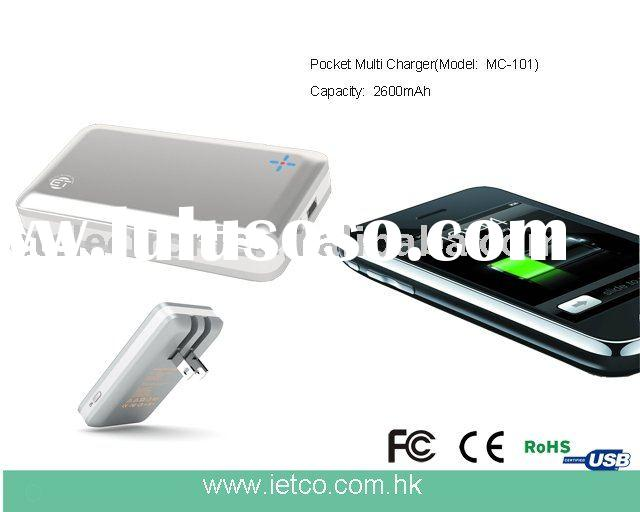 Multi Mobile Back Up charger for iPhone/iPod,Blackberry, HTC, Nokia, Samsung, Sony Ericsson, LG etc