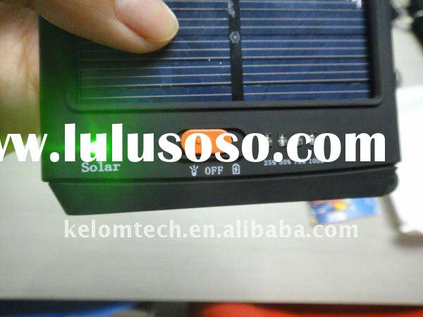 New solar notebook charger for laptop 12000mA